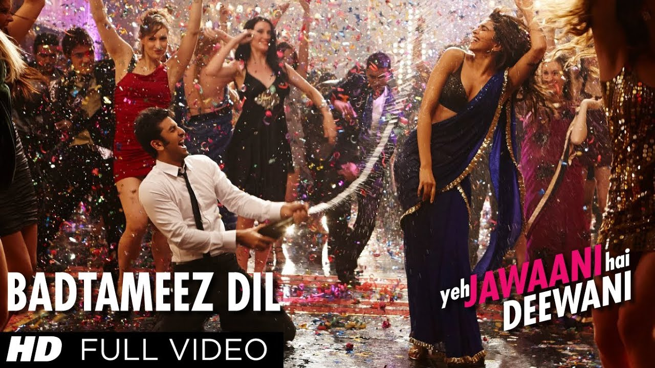 Badtameez Dil Full Song HD Yeh Jawaani Hai Deewani | Ranbir Kapoor, Deepika Padukone Watch Online & Download Free