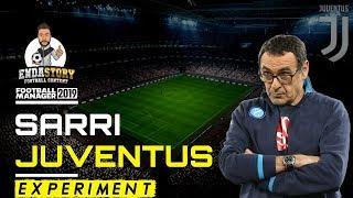 Maurizio Sarri as Juventus Manager - Football Manager Experiment