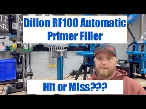 Dillon RF100 Automatic Primer Filler - Is it really worth it????