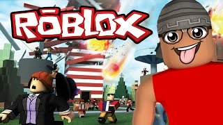 ROBLOX-SURVIVING ALL DISASTERS (Natural Disaster Survival)