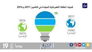 ارتفاع نسبة مساهمة الغاز في توليد الكهرباء في المملكة - (21-1-2018)