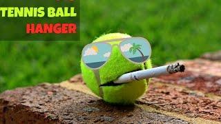 Tennis Ball Hanger (DIY)