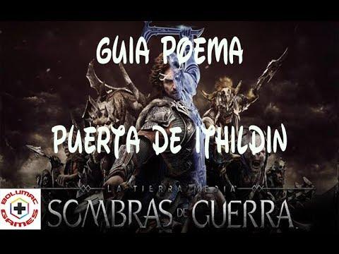 Puerta De Ithildin Minas Ithi Poema Resuelto By Bolumac Games