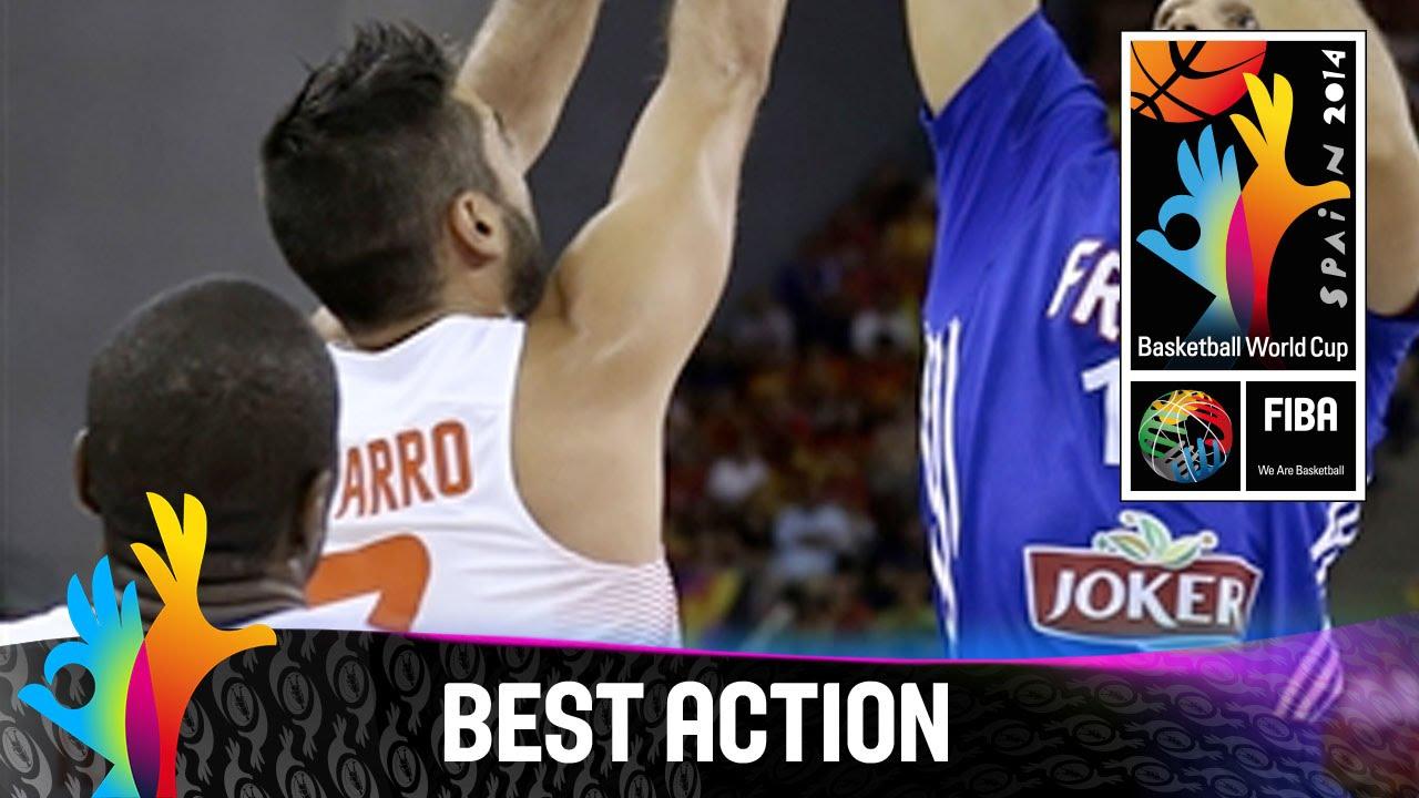 Spain v France - Best Action