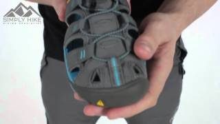 Keen Womens Clearwater CNX Sandal Gargoyle and Norse Blue - www.simplyhike.co.uk