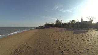 Героевское. Пляжи пансионатов (от Энергетика до Залива)
