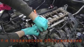 Замена цепи ГРМ на Mercedes Benz W204