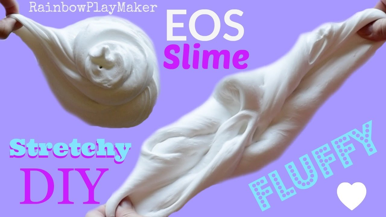Diy eos fluffy stretchy slime tutorial easy recipe youtube diy eos fluffy stretchy slime tutorial easy recipe ccuart Image collections