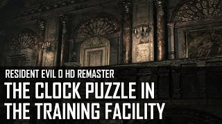 Resident Evil 0 HD - How to solve the clock puzzle in the training facility?