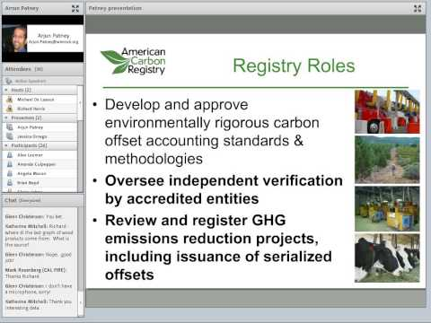 Overview of CA Cap-N-Trade Program, Reg Process & Carbon Market Planning Tool:Arjun Patney