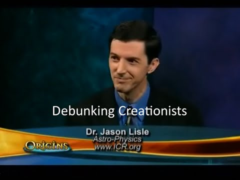 Debunking Creationists - Dr. Jason Lisle