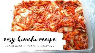 Easy Kimchi Recipe | MEY's TV