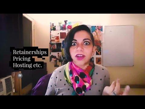 #20 #TheNainaRedhuExperience : Retainership, Pricing, Hosting for Blogging