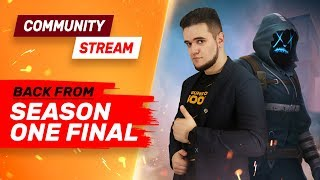Back From Season One Final - Community Stream - Guns of Boom