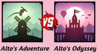 Alto's Adventure Vs Alto's Odyssey | Players | Gameplay HD screenshot 2