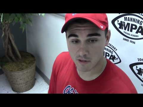 Ole Miss QB Chad Kelly talks Manning Passing Academy, upcoming season | Video