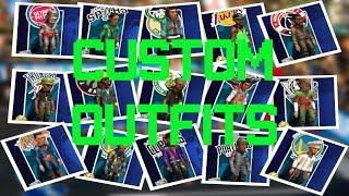 NBA 2K PLAYGROUNDS 2 ALL CUSTOM PLAYER OUTFITS GAMEPLAY WALKTHROUGH [1080P HD]