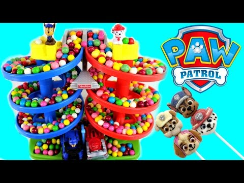 Thumbnail: Paw Patrol Best Baby Toy Learning Colors Video Gumballs Cars for Kids, Teach Toddlers, Preschool