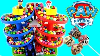 Repeat youtube video Paw Patrol Best Baby Toy Learning Colors Video Gumballs Cars for Kids, Teach Toddlers, Preschool