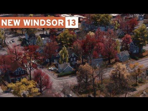 Shopping Center, Old Bridge and Park - Cities Skylines: New Windsor - Part 13 -