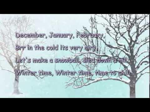 The Seasons Song (With Lyrics) UK Seasons.