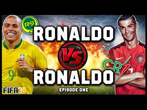 BRAND NEW SERIES! RONALDO vs RONALDO #1! (R9 vs CR7) - FIFA 18 ULTIMATE TEAM