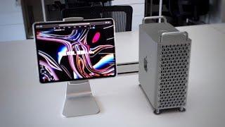 iPad Pro旋转支架开箱:自己动手打造mini XDR | 凰家vlog