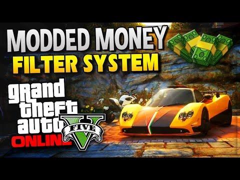 GTA 5 Online - MODDED MONEY FILTER ! Money Tranfer For Next ...