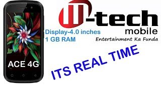 Mtech Ace 4G Mobile Price & Specification , review in hindi , ITS REAL TIME