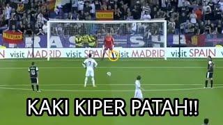 Awalnya penjaga gawang ini pun tidak menyangka kaki nya di patahkan Ronaldo