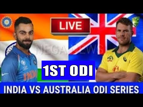 LIVE SCORE I Australia Vs India 1st ODI Match 2020 Live Commentry Streaming I Aus Vs Ind