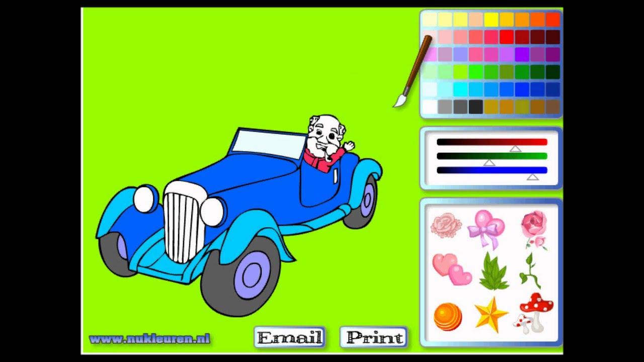 Online Boyama Araba çizme Oyunları Kikirticom Youtube