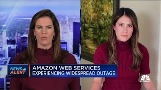 Amazon Web Services experiencing widespread outage