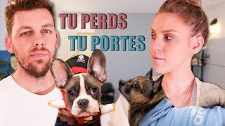 TU PERDS TU PORTES (version chiens mignons) Ft. Pierre Croce