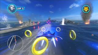 Sonic & All Stars Racing Transformed: Carrier Zone [1080 HD]
