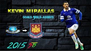 Kevin Mirallas Goals,Assists,Skills