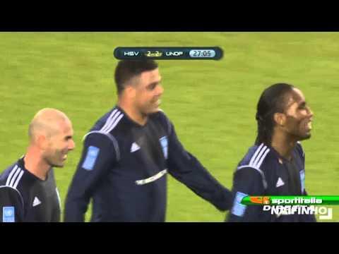 Ronaldo Hamburg Match against Poverty 13-12-2011