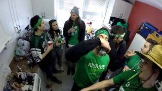 Ezra Gone Wild: A Laurier Saint Pattys Day
