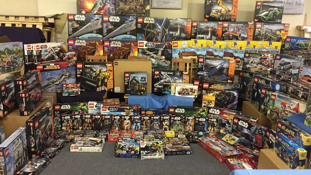 my friend 39 s massive sealed lego set collection youtube. Black Bedroom Furniture Sets. Home Design Ideas