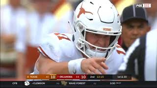 2018 - Texas Longhorns vs Oklahoma Sooners in 40 Minutes