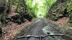 20 miles on the Air Line Trail from East Hampton to Willimantic