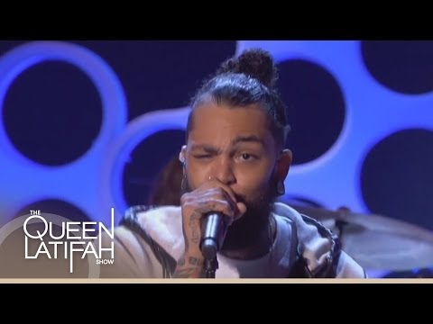 """Travie McCoy and Patrick Stump Perform """"Rough Water"""" on The Queen Latifah Show"""