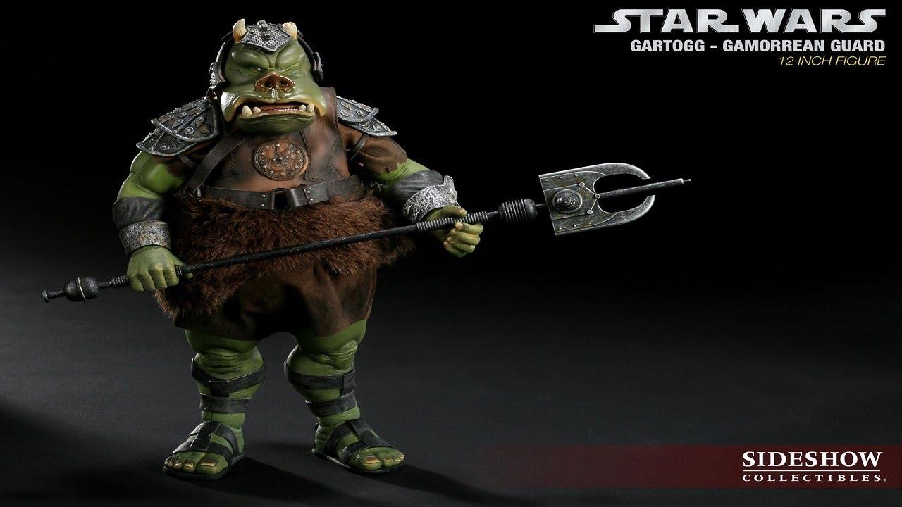 Star wars sideshow collectible gamorrean guard 1 6 scale hd youtube - Star wars gamorrean guard ...