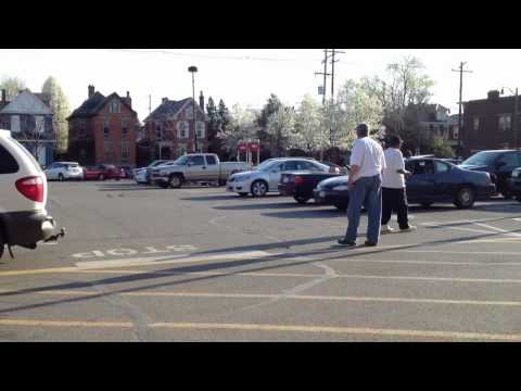 Racist outside supermarket in Columbus, OH part 1