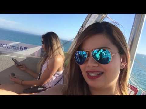 Riding the Ferris Wheel @ Santa Monica
