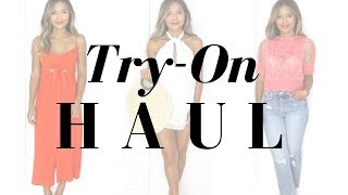 Summer Try On Haul | Asos, Topshop, Revolve & More!