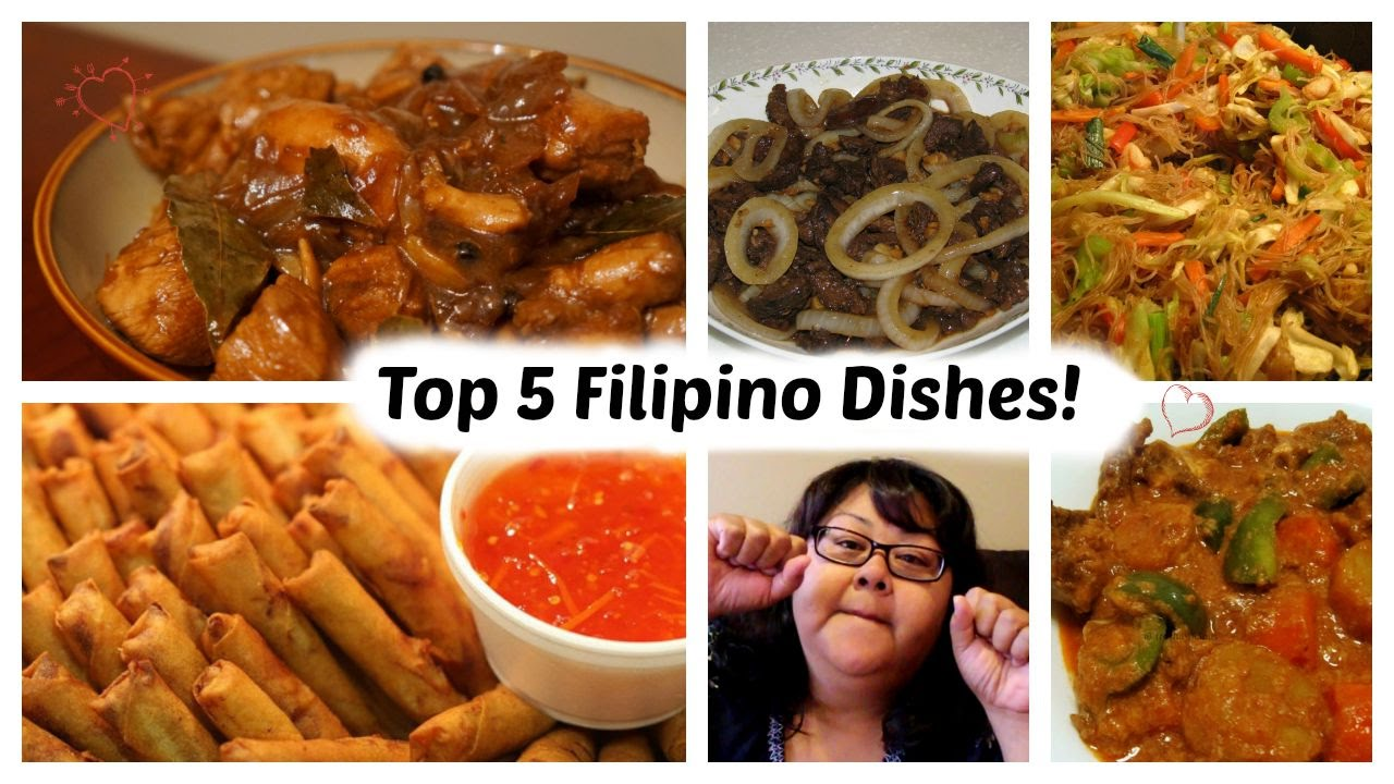 Top 5 filipino dishes youtube top 5 filipino dishes forumfinder Images