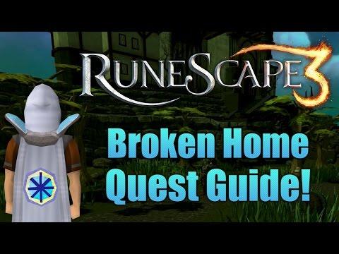 Runescape 3: Broken Home Quest Guide!
