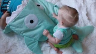 Спальный мешок акула, спальник, спальник для ребенка