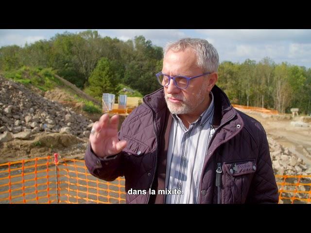 ALILA - 1ere Pierre  L'ÉLOGE à Charbonnières - Pascal LAGRUE – Vice-Président  Alliade Habitat